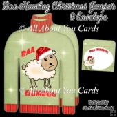 BAA Humbug Christmas Jumper Card & Envelope