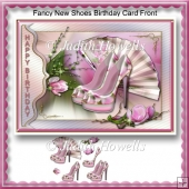 Fancy New Shoes Birthday Card Front