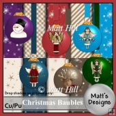 Christmas Baubles Kit
