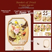 Basket of Fruit - 3-Sheet mini-kit