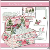 Winter Fun Rectangle Pop Up Box Card