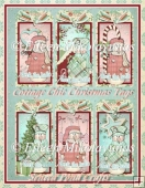 Cottage Chic Christmas Snowman Tags