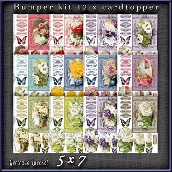 Bumperkit So many Flowers 1281