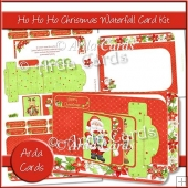 Ho Ho Ho Christmas Waterfall Card Kit