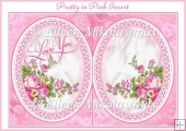 Pretty in Pink Romance Card Insert