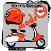 60's Mods in Orange