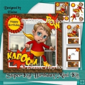 Super Kid Birthday Mini Kit