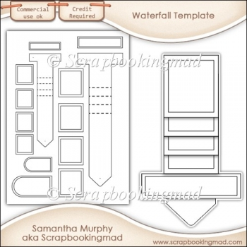 Waterfall Template Commercial Use