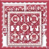 Patchwork Xmas 2 Card Front