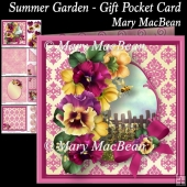 Summer Garden - Gift Pocket Card