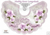 Shabby Chic Roses Lampshade with Crafting Directions