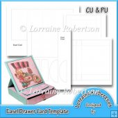EASEL DRAWER CARD TEMPLATE