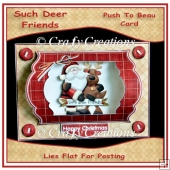 Deer Friends Push to Beau Card