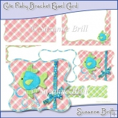 Cute Fishy Bracket Easel Card