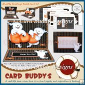 Ghostly Greetings Easel Card Kit