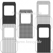 Black And White Theme Envelopes Kit