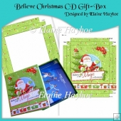 Believe Christmas CD Gift-Box