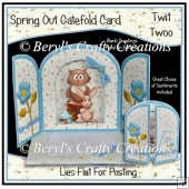 Spring Out Gatefold Card - Twit Twoo