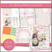I'm Getting Married List Book