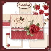 Nitwits Red roses card set