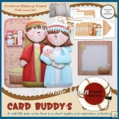 Christmas Blessings Shaped Fold Card Kit