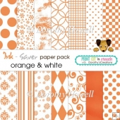 Ink-Saver Paper Pack - Orange