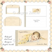 VINTAGE BABY GIRL DL CARD