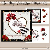 Be My Valentine Mini Kit