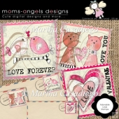 Adorable love stamps