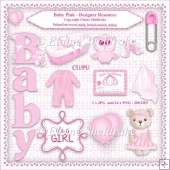 Baby Girl Pink - Designers Resource Kit