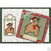 Merry Christmas Bear Card Kit