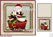 7.5 x 7.5 Card Topper & Gifttag Christmas 5