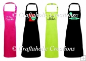 Set of 4 Apron Topper Designs