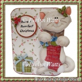 Christmas Kitty Over The Edge Card Kit