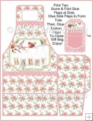 Christmas Delights Gift Tote and Tag Set