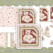 Warm & Fuzzy Scalloped Corner Card
