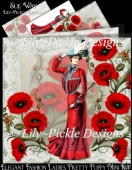 Elegant Fashion Ladies, Pretty Poppy Mini Kit
