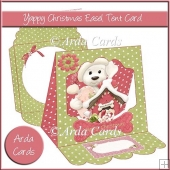 Yappy Christmas Easel Tent Card