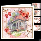 Sleepy House Roses Birthday or Mothers Day Mini Kit