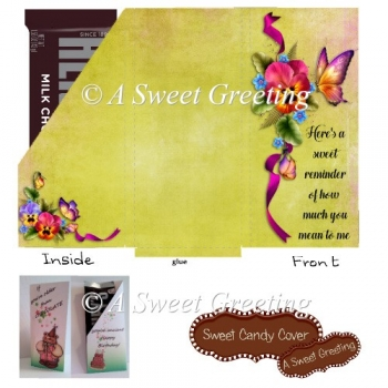 Sweet Reminder Small Candy Bar Card