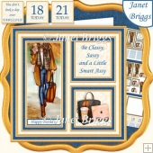 CLASSY AND SASSY SQUARES 7.5 Quick Layer Card & Insert Kit