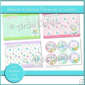 Bonnets & Bowties Placemats & Coasters