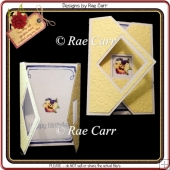 879 Crossfold Diamond Card *Multiple MACHINE Formats*