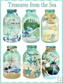 Treasures from the Sea Bottle Collection