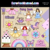 Princess Fairy Clipart Graphics Download