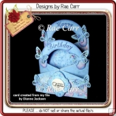 063 Birthday Cascade Card