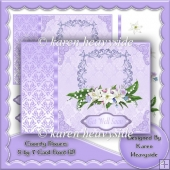 Country Flowers 5 by 7 Card Front (2)