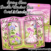 Spring Time Double Window Box Card