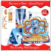 You Are A Star - Easel Card