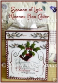 Season of Love Christmas Kleenex Brand Tissue Box Cover